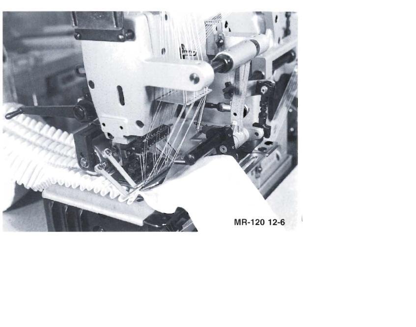 Fabrication des plis dtr 120 12 6 variomatic machine - Fabrication rideaux ...